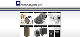 acoustic hailing devices homepage screenshot